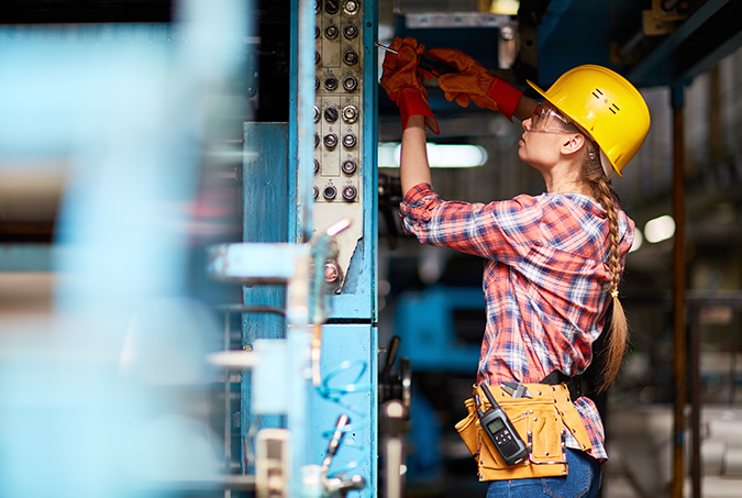 Female Technician Mechanic