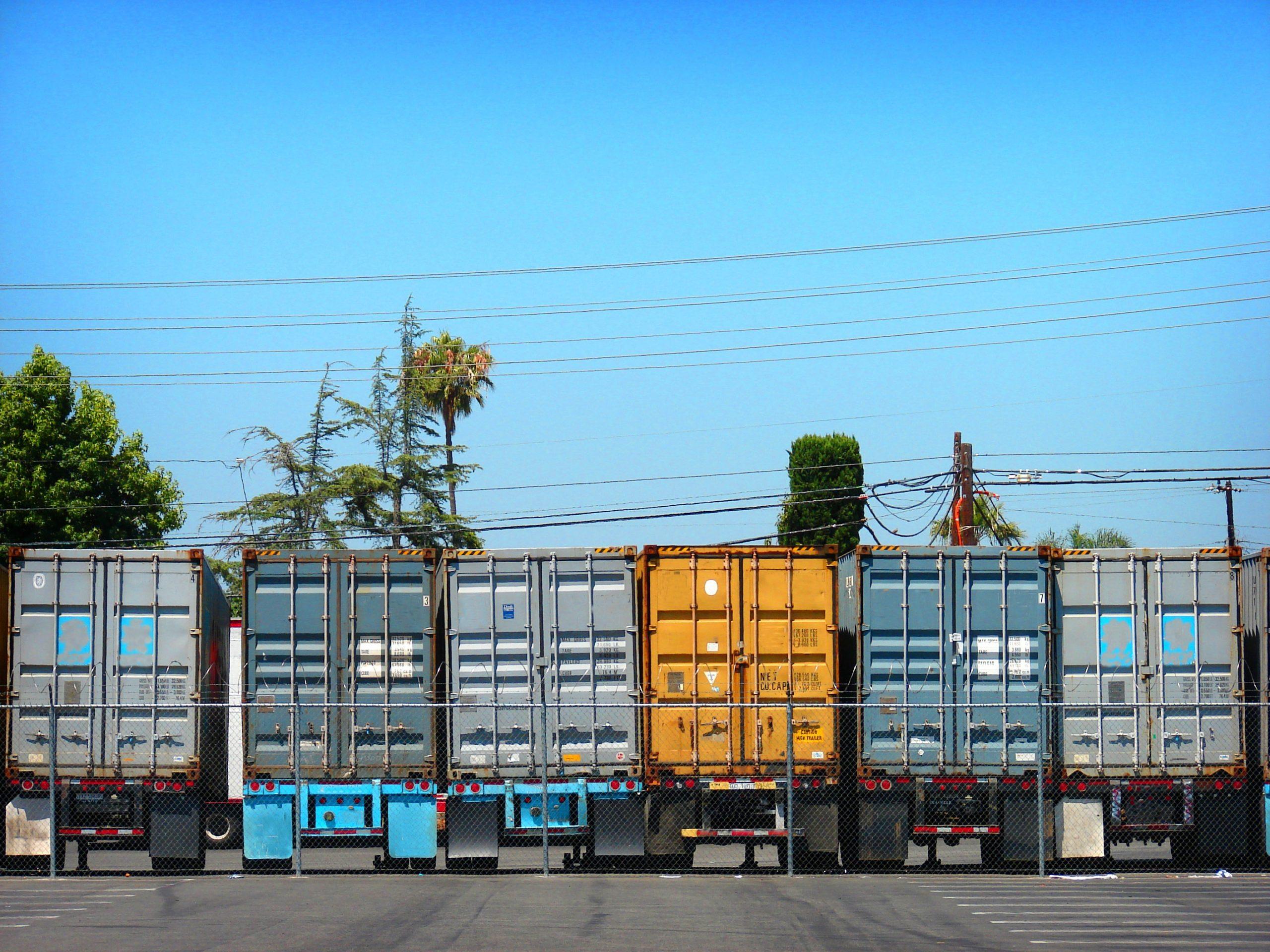 Foreign Truck Backs