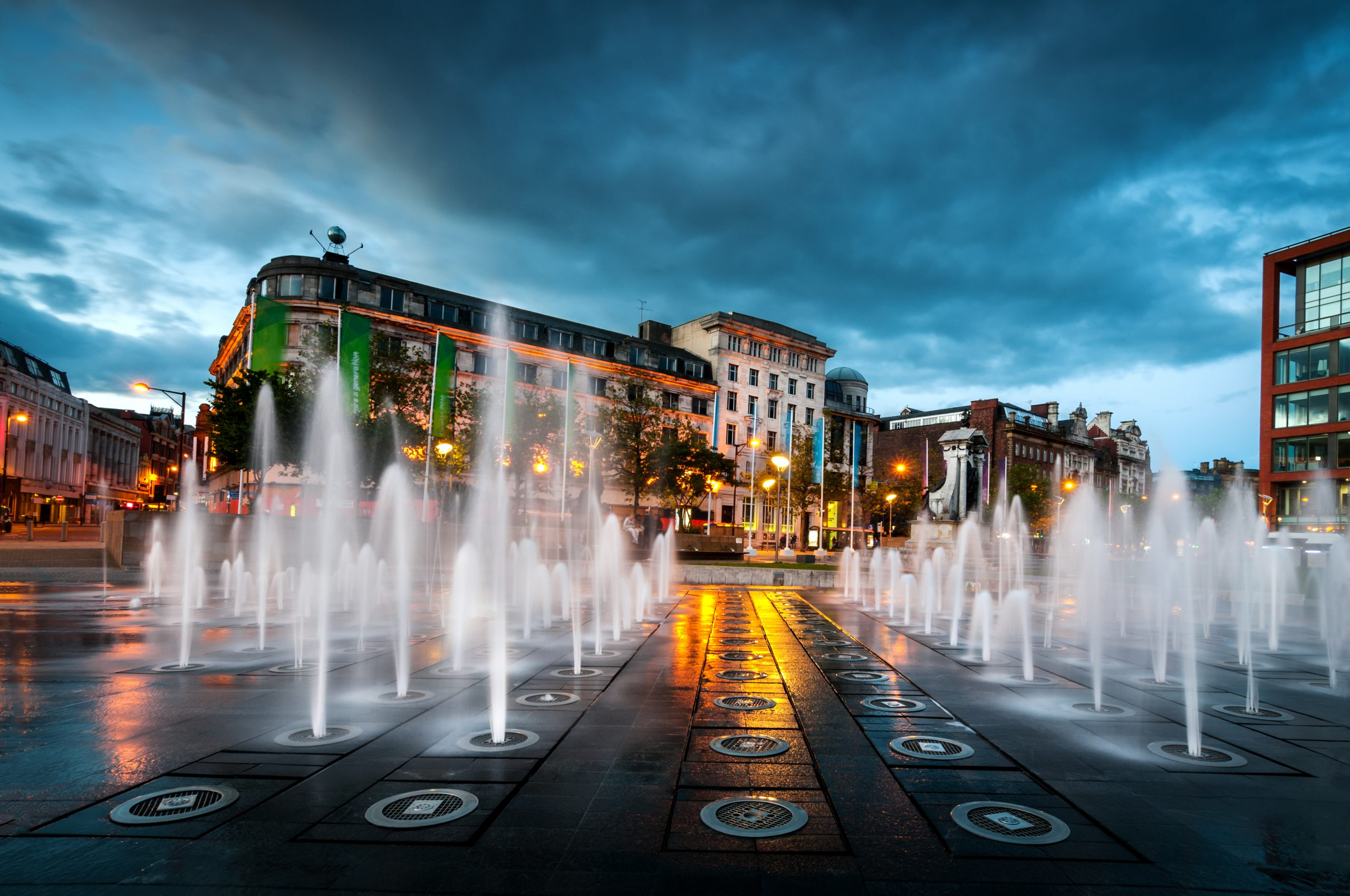 Manchester City Fountains