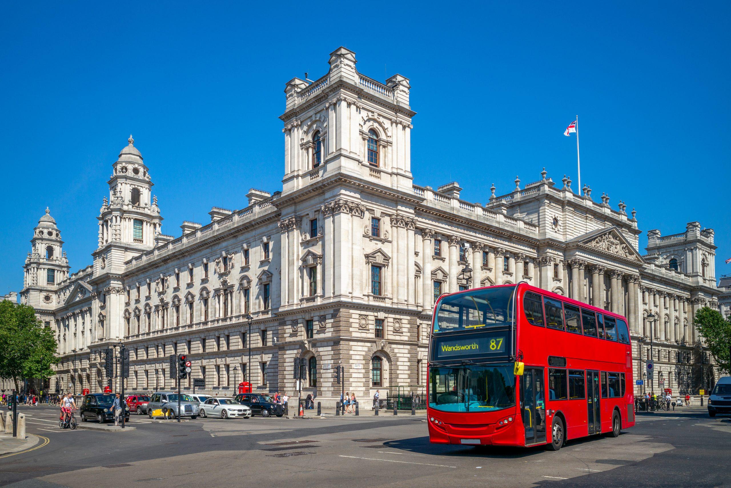HMRC   red bus